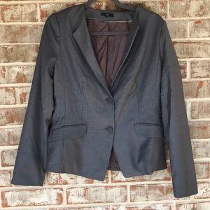 Gap Sz 10 Gray Classic Blazer